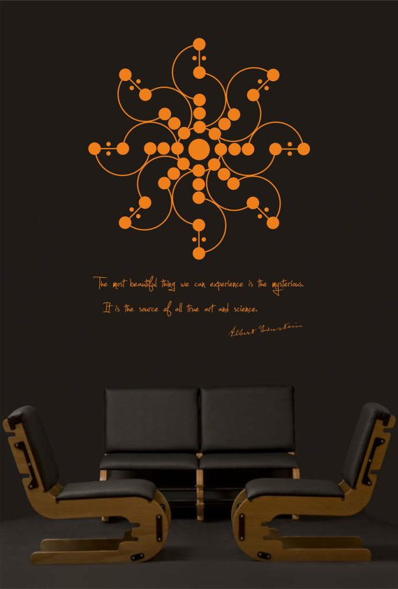 Science art physics Albert Einstein quote and by cutnpasteshop