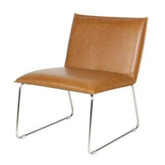 WOOOD fauteuil Neve cognac | Fauteuils | Banken & fauteuils | Meubelen | KARWEI