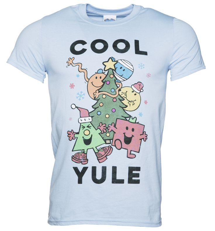 TruffleShuffle Mens Mr Men Cool Yule Christmas T-Shirt Big fan of the Mr. Men  Little Miss books back in the day? Course you were! Packed full of nostalgic feels just like the books themselves, this festive tee featuring Mr Bump, Mr Tickle, Mr Happy, Mr  http://www.MightGet.com/february-2017-3/truffleshuffle-mens-mr-men-cool-yule-christmas-t-shirt.asp