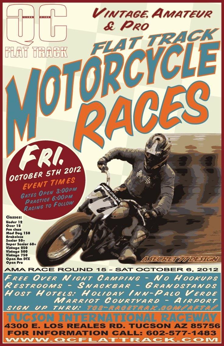 October 5th Race The Night Before The Ama Pro Flat Track