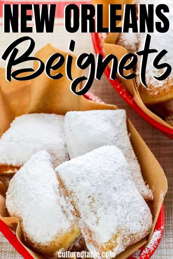 How To Make Beignets New Orleans Style Cultured Table Recipe In 2020 Beignet Recipe Food Beignets