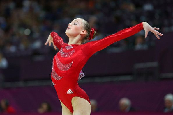 Stella McCartney's London 2012 Olympic Gymnastics Leotard in Action