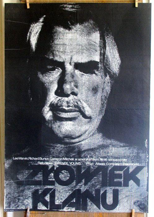 POLISH SCHOOL of POSTERS The Klansman  Film by artwardrobe on Etsy, $99.99