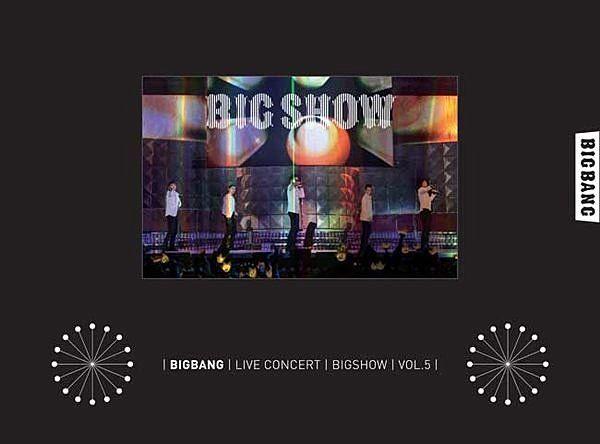 Big Bang 2010 Big Show 演唱會 韓版 DVD