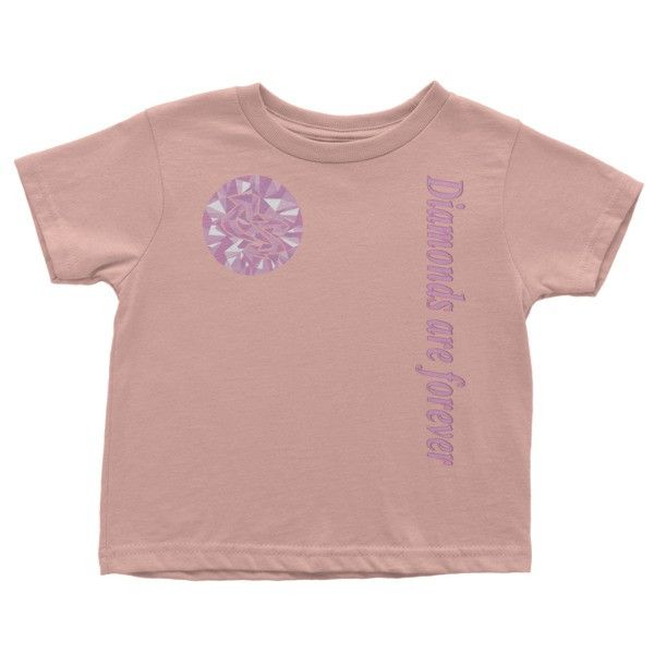 Diamonds are forever Infant short sleeve t-shirt