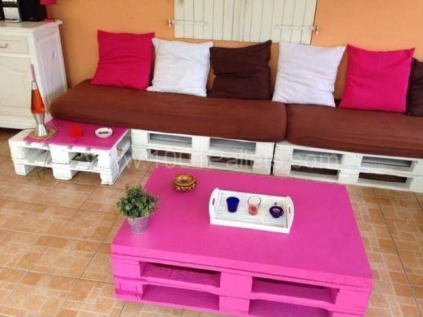 149 best Pallets... images on Pinterest   Pallet furniture ...