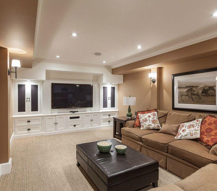 Basement Carpet Colors Built In Entertainment Center