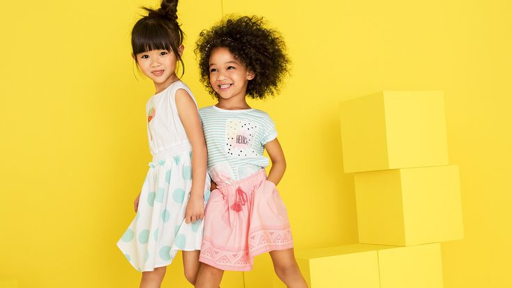 Spring into summer! The NEW younger #girlswear collection has arrived.