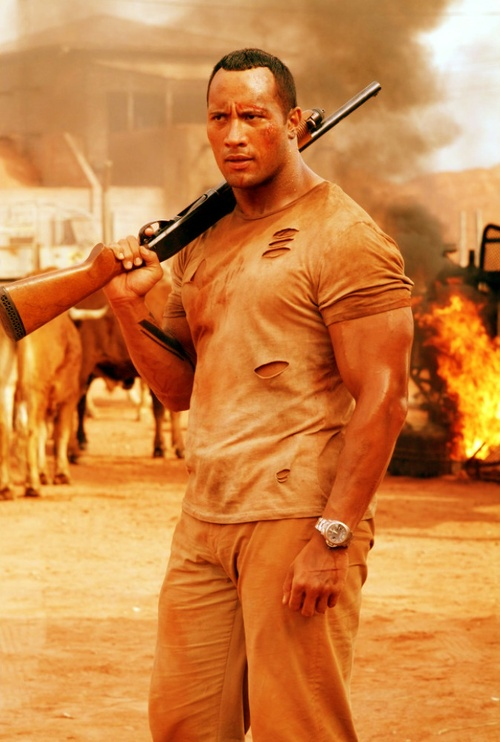 "Dwayne ""The Rock"" Johnson in The Rundown (2003)"