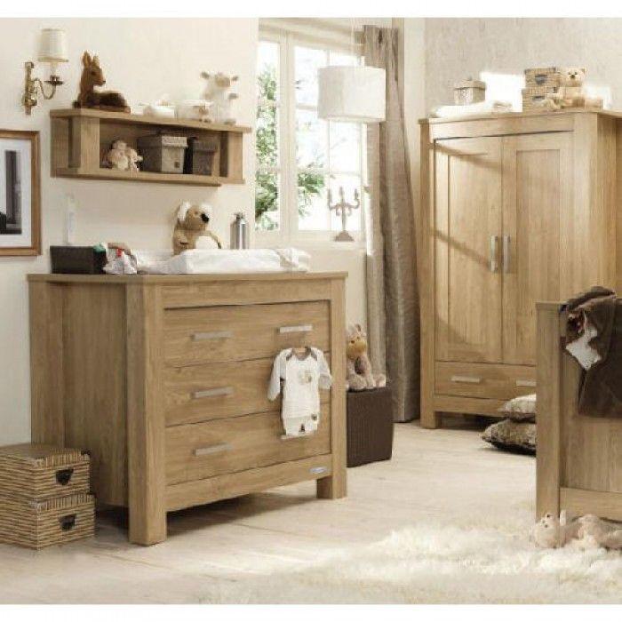 Babystyle Bordeaux 4 Piece Room Set Light Oak Effect Nursery Ideas Pinterest Baby Furniture And