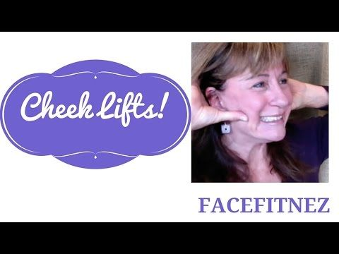Cheek Lifts! How to Lift your face & restore volume with cheek lift faci...