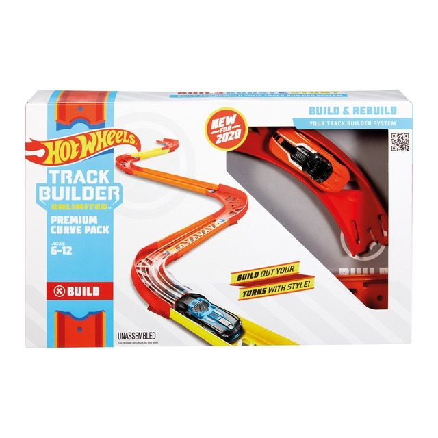 Hot Wheels Hot Wheels Track Builder Accesorios Para Pistas De Coches Curvas Hot Wheels Pistas Hot Wheels Hot