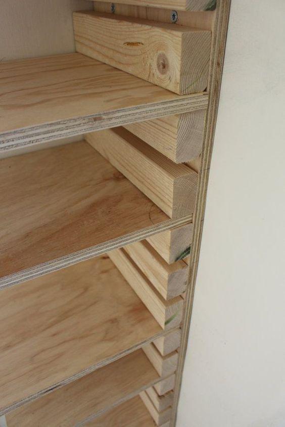 Diy Corner Closet Shelves