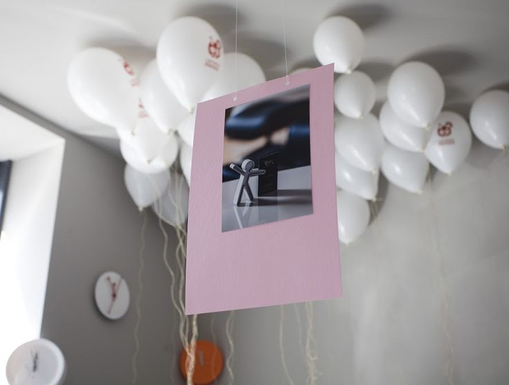 Nasze balony są jak marzenia. Unoszą się wysoko ;)