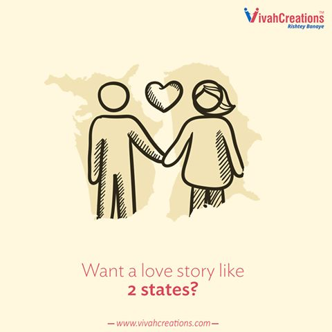 2 souls, 2 castes, 2 families, 1 love! Diversity is the best! Find your partner in different caste with #VivahCreations: http://bit.ly/vivahcreations_home #OneLove #Marriage #ArrangeMarriage #Matrimony