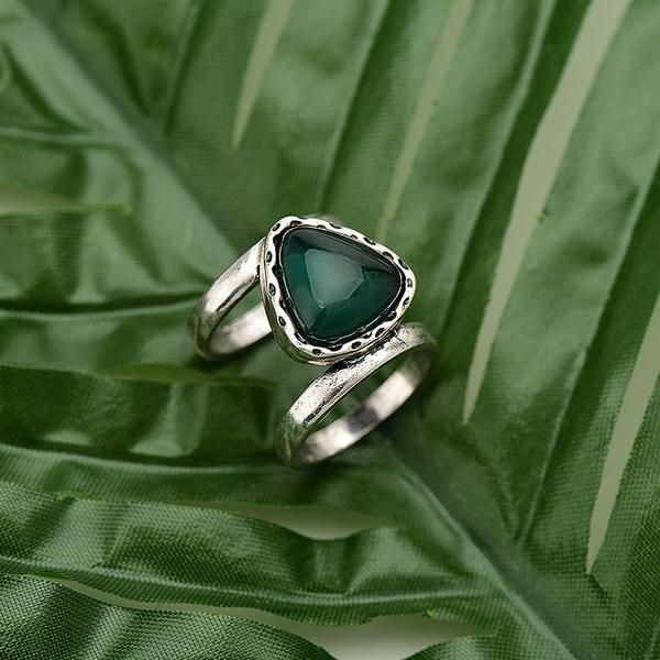 Cat Eye Sterling Silver Ring | Bohemian | Gypsy | Indie | Hippie Style