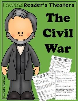 Civil War Reader's Theater {Leveled Parts}