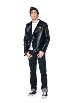 Men's faux leather T-Birds jacket.