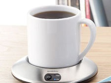 Coffee cup warmer for my office? Yes please.