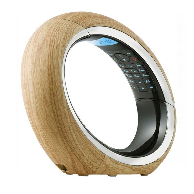 AEG Eclipse 15 Single Cordless Telephone Wooden Price: AED 529.00