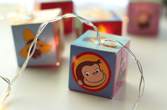 Hey, I found this really awesome Etsy listing at https://www.etsy.com/listing/247428919/curious-george-string-of-lights-led-lit