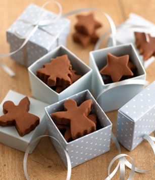 No bake fudge in fun shapes from Tate and Lyle.
