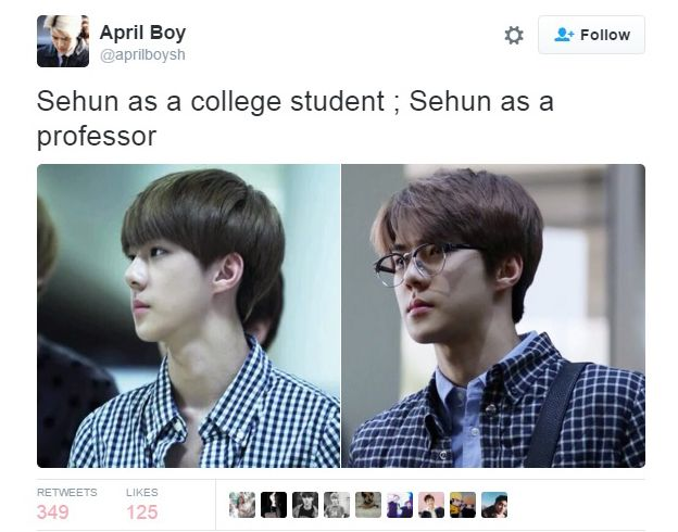 Oh Sehun: Before VS Now