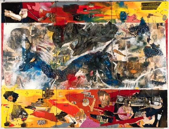 altorjai sándor Sugármeghajtású koporsó kék leopárddal színes rongy képében (Karácsonyra családomnak Munkácsy Mihály ihletése alapján (197