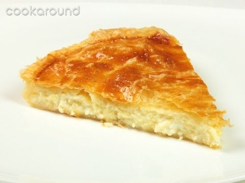 Focaccia di pasta sfoglia e formaggio: Ricette Grecia | Cookaround