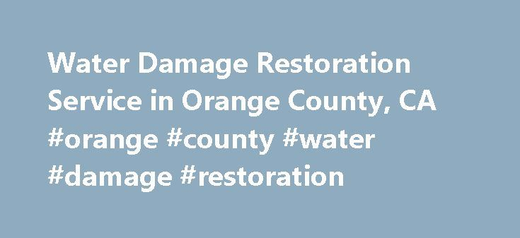 Water Damage Restoration Service in Orange County, CA #orange #county #water #damage #restoration http://oregon.remmont.com/water-damage-restoration-service-in-orange-county-ca-orange-county-water-damage-restoration/  Jarvis Restoration #1 Water Damage Restoration Service in Orange County, CA If you're living in Orange County and seeking a trustworthy restoration company to repair water damage, fire damage, mold or any property related restoration in your property, don't waste any more time…