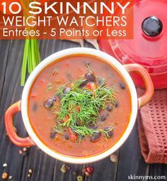 It's so easy to stay on track with these yummy Weight Watchers entrees with 5 points or less! #weightwatchers #recipes #5pointsorless