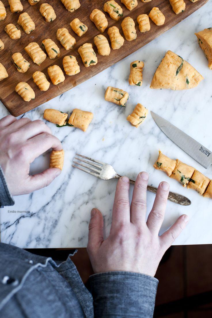 Gnocchis de patate douce maison, simple et efficace