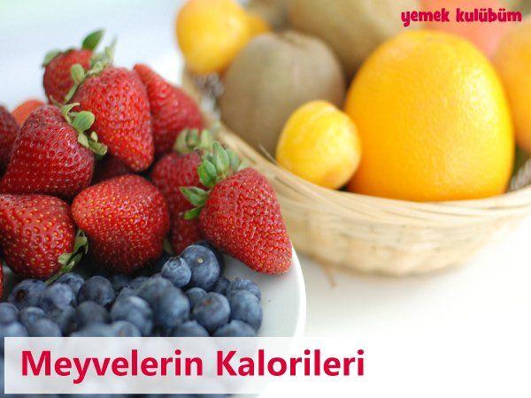 Meyvelerin Kalorileri Hangi Meyve Kaç Kalori