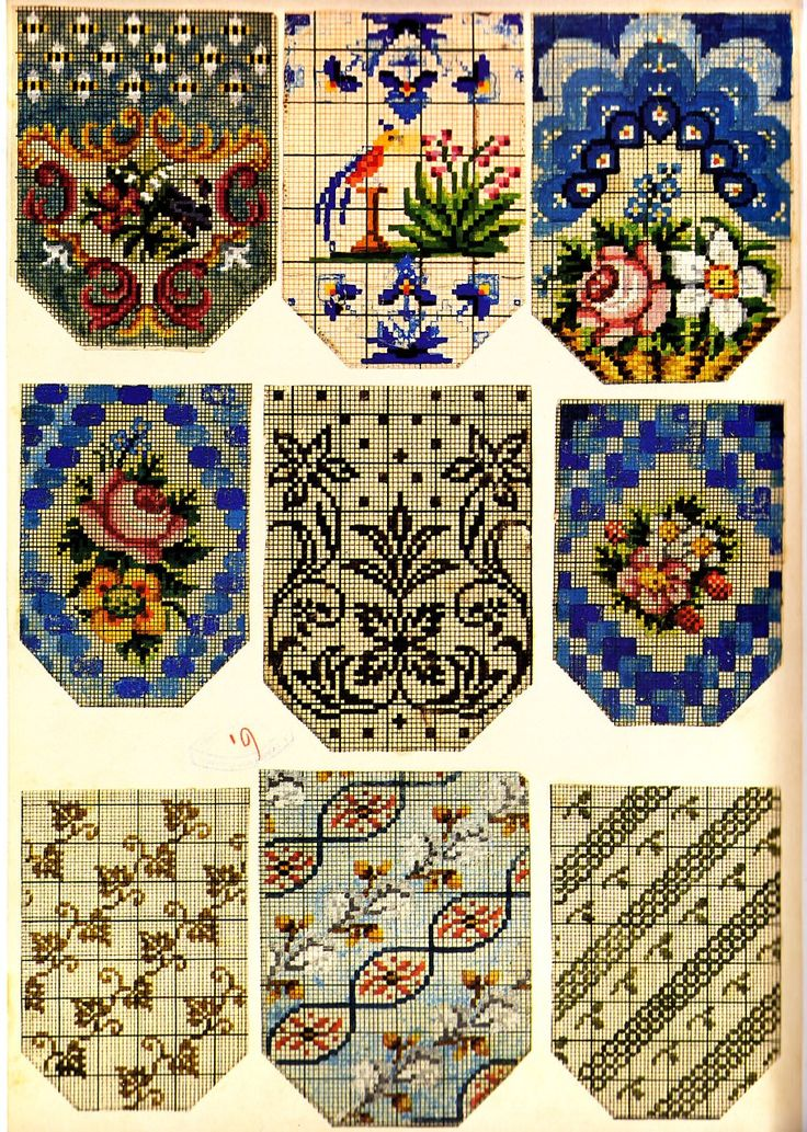Victorian Beadwork Purse Patterns ~ Berlin WoolWork BeadWork ~