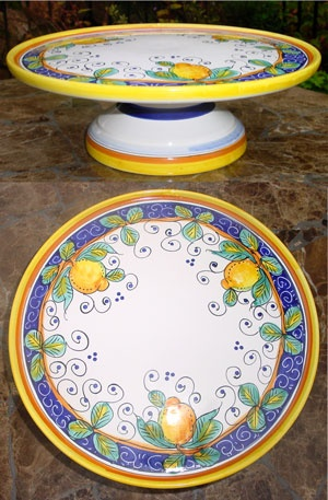 Image Result For Pottery Cake Stand F Italy