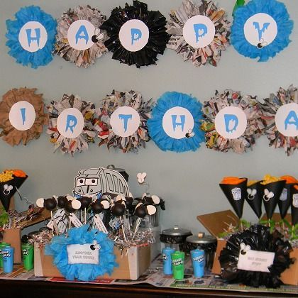 Great Garbage Truck Party Ideas