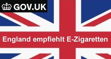 Erste EU-Regierung empfiehlt E-Zigaretten für den Rauch-Stopp