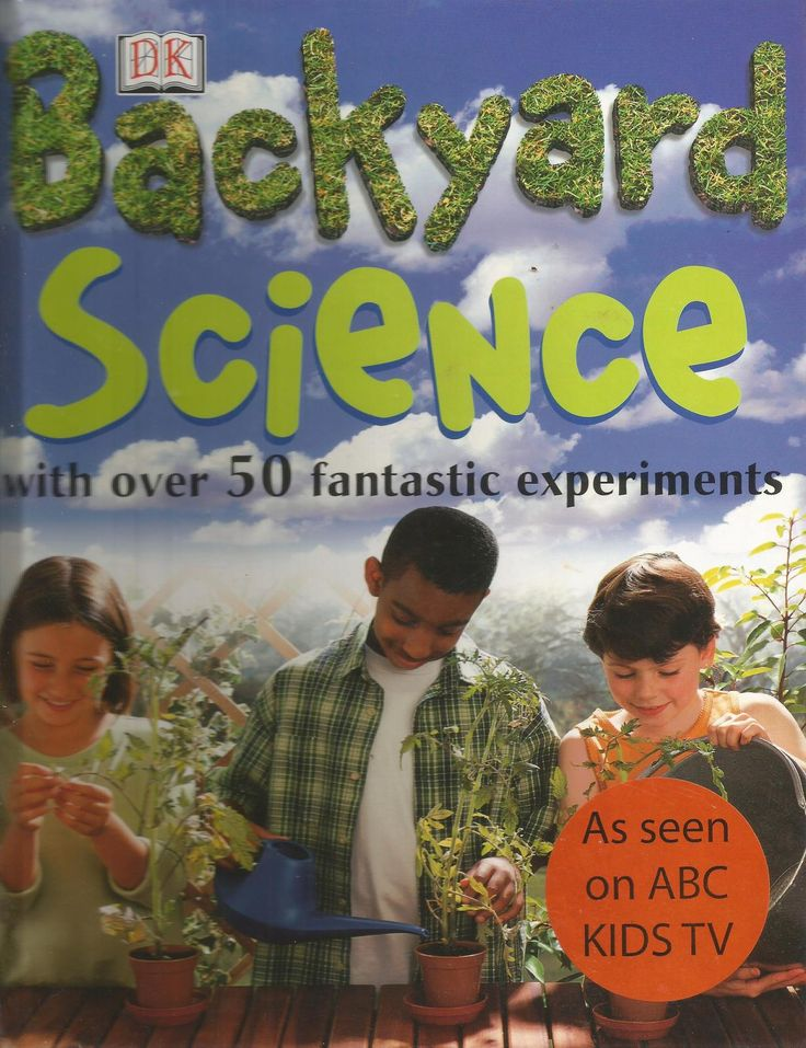 DK - Backyard Science - Over 50 Fantastic Experiments! by Chris Maynard - Hardcover - S/Hand
