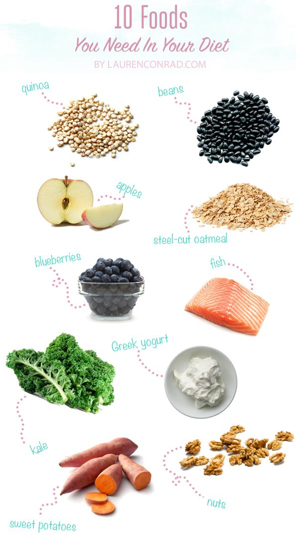 Tuesday Ten: Foods You Need in Your Diet
