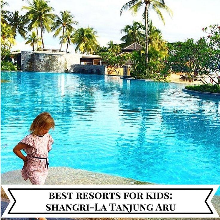 Best kids resorts: Shangri-La Tanjung Aru Resort & Spa, Borneo — Mumpack Travel Post - mumpack travel