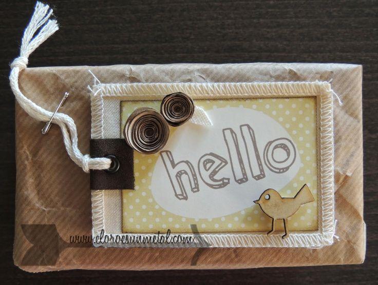 eloroesunmetal: Tarjeta Hello