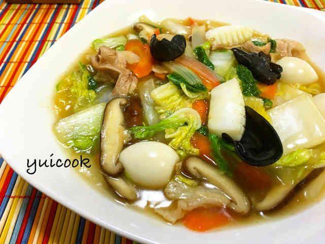 超簡単♡野菜たっぷり本格八宝菜の画像