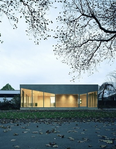 Cafe Pavilion  Martenson and Nagel Theissen Architecture