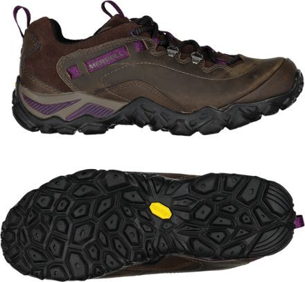A field-tested favorite, the Merrell Chameleon Shift Traveler Hiking Shoes feature a lightweight design and rugged outsoles to keep you stable on rocky terrain.