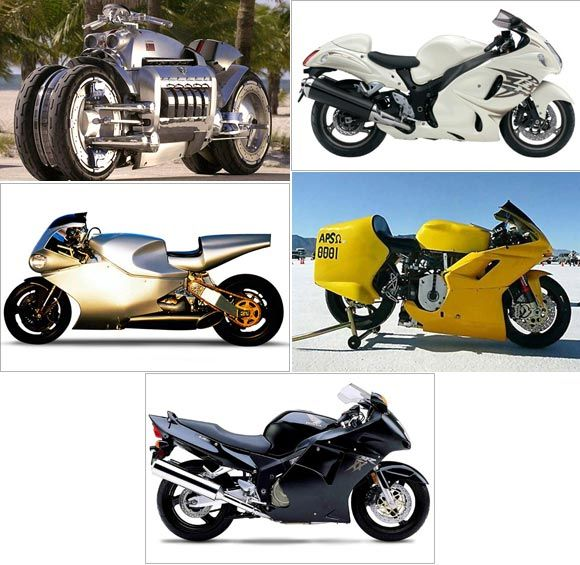 Top 5 Fastest Bikes In The World!