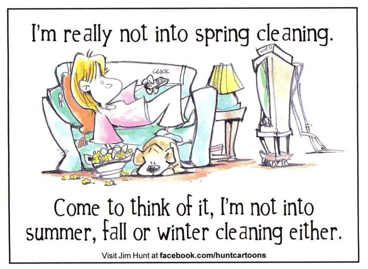 Spring Cleaning Humor And More Cleaning Jokes Here