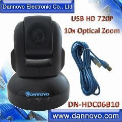 [ $30 OFF ] Dannovo Hd Usb Web Conferencing Camera,10X Optical Zoom Hd 720P Webcam(Dn-Hdc06B10)