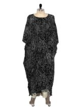 WeBeBop Plus Size Bunga Black Caftan Dress