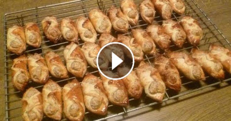 In diesem Video zeige ich euch wie ihr leckere Nusshörnchen backt. Nusshörnchen backen nach traditionellem Rezept . Schmecken richtig lecker!  (Länge: 05:51)