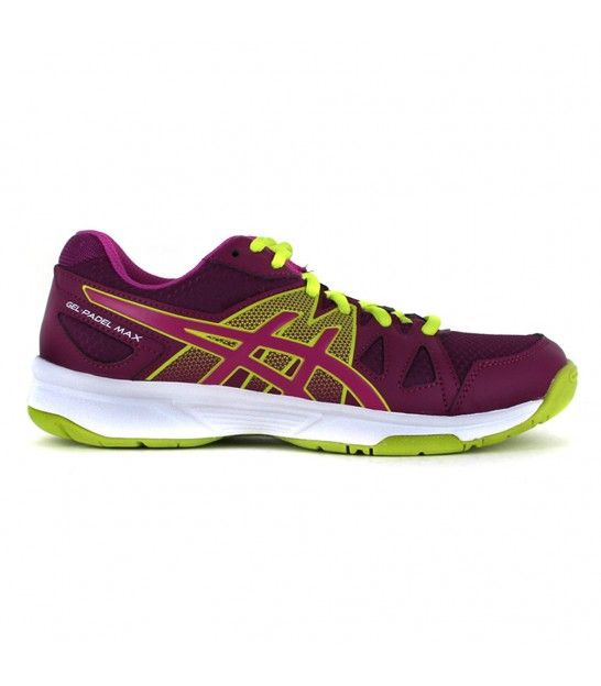 ASICS GEL PADEL MAX 2 PLUM / BERRY / LIME